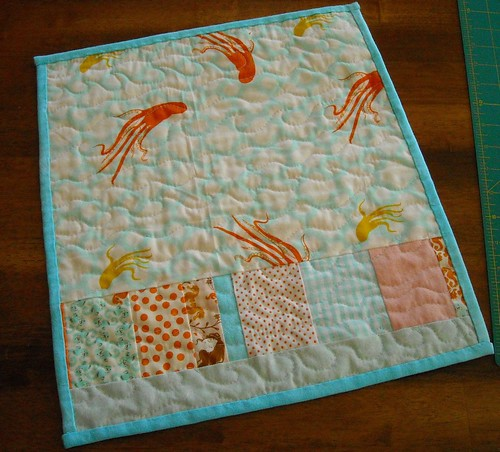 mermaid miniquilt back