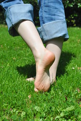Walking Barefoot (Artistic Feet) Tags: cute feet pose walking asian photography foot toes pretty arch legs artistic small nails barefoot heels shape soles curvs