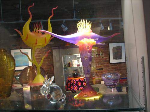 art glass in Saratoga Springs
