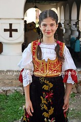 Serbian national costume, Pirot, Serbia (Tanjica Perovic) Tags: portrait church beautiful beauty smile youth feast cross folk traditional serbia young culture folklore clothes celebration procession balkans tradition orthodox garments nationalgeographic crkva srbija serbian easterneuropean pravoslavie pirot traditionalclothes serbianorthodoxchurch sigma1770mm  pravoslavni  canoneos400d sigma1770mmf2845dcmacro  srpskapravoslavnacrkva  pirotskicilim  serbiannationalcostume girlwearingtraditionalserbianclothes ascensionofmotherofgod agirlsmiling uspenijepresvetebogorodice sprskanarodnanosnja slavagradapirota nativitychurchpirotserbia tanjicaperovic serbianfolkdress ascentionofmotherofgod dormitionofmotherofgod pirotski pirotsrbija  tanjicaperovicphotography  staracrkvapirotsrbija fotografijepirota