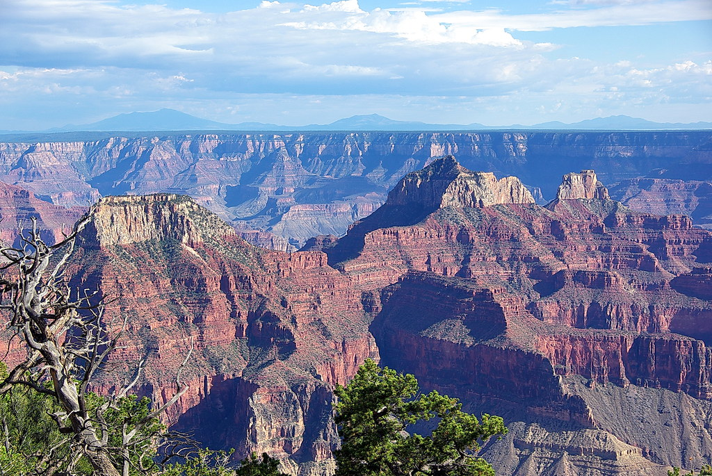 View from North Rim of the Grand Canyon, photo by flickr user Al_HikesAZ