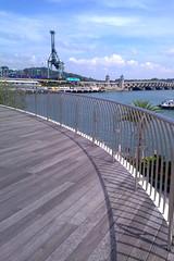Walkway outside Vivocity