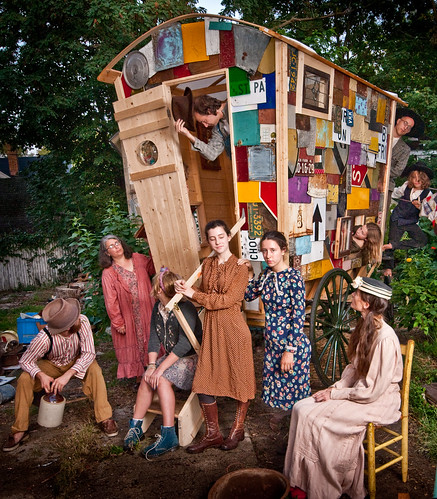 The Beerhorst Family Wonder Wagon - {Beerhorst/Van Dyke Collaboration - Artprize \'09}