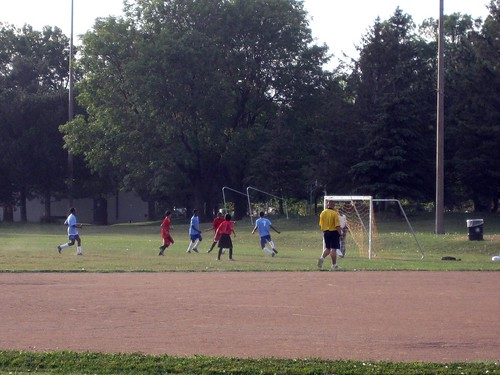Soccer at Northeast Park