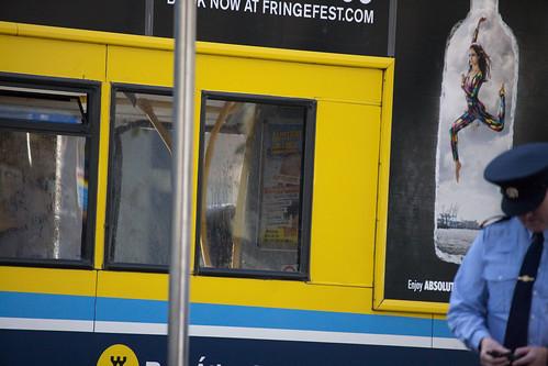 Luas Tram Accident - Dublin City Centre