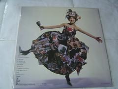 原裝絕版 1989年 1月1日 中森明菜 AKINA NAKAMORI BEST II LP 黑膠唱片 原價  2800YEN 中古品 2