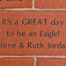 It's a GREAT day to be an Eagle! Steve & Ruth Jordan