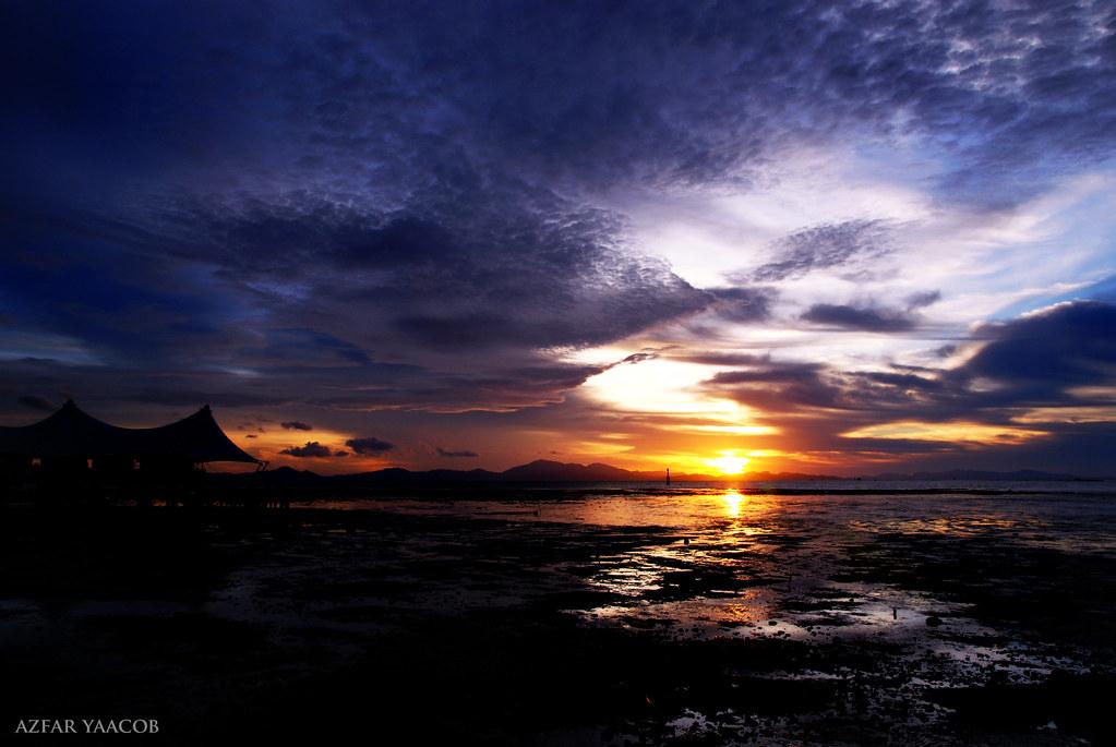 sunset k.perlis