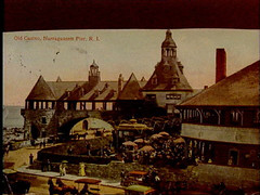 a1754 (Providence Public Library) Tags: narragansett postcardcollection oldcasino narragansettpier narragansettpierri rhodeislandimages pc7494