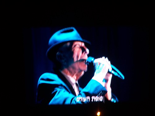 Leonard Cohen in Ramat Gan