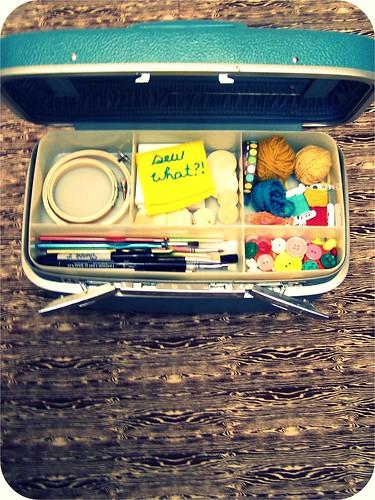 travel craft case