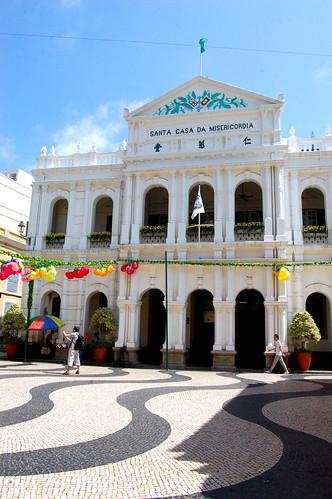 仁愛堂, 議事亭前地, Macau