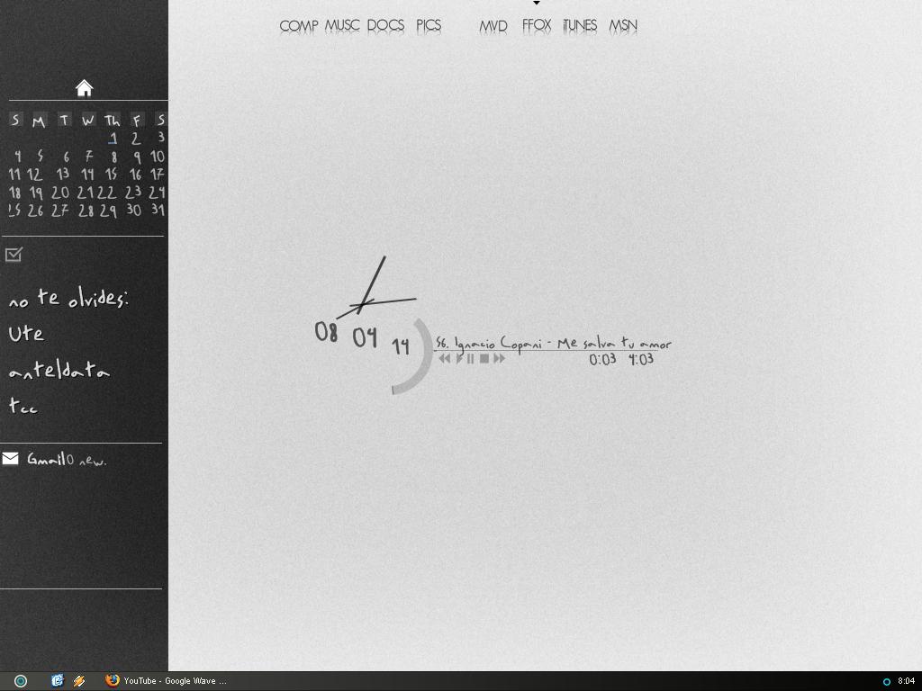 3970882873 dbb8a7bc57 o mi escritorio otra vez | my desktop again
