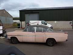 Vauxhall Cresta PA (The independent bus man) Tags: old pink classic car rock grey n retro pa charcoal 1958 rockabilly roll 50s vauxhall cresta velox cdh 791 mountainrose