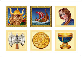 free Vikings Voyage slot game symbols