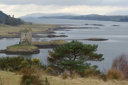 Castle Stalker. Copyright Mark Carter