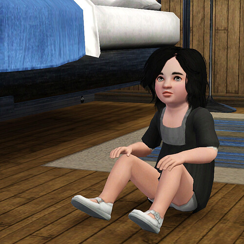 Mariella ages to a toddler