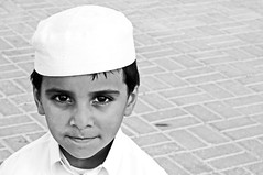 """Why So Serious?!"" (Sanctuary photography  back ! maybe :p) Tags: boy portrait bw face kid nikon child serious style why hdr rashid d300  qatari so"