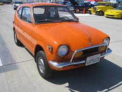 Honda 600 (MR38) Tags: orange japan honda small 600 micro