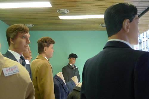 Vitrines Aux ciseaux d'Or - bruxelles- octobre 2009