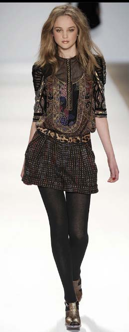 Nanette Lepore tunic Fall 2009