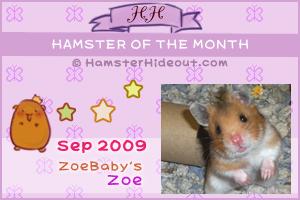 HOTM Sept 2009 - Zoe