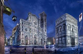 Catedral de Florencia / The Basilica di Santa Maria del Fiore, Florence, Italy