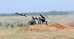 First Javelin missile firing in India (The U.S. Army) Tags: india missile indianarmy javelin strykers schofieldbarracks 25thinfantrydivision 2ndsquadron 2ndstrykerbrigadecombatteam bilateraltraining usarpac 14thcavalryregiment usarmypacific ya09 214cav strykehorsesquadron pacificusarmy yudhabyas yudhabyas09 exerciseyudhabyas09 2ndstrykerbct strykehorse