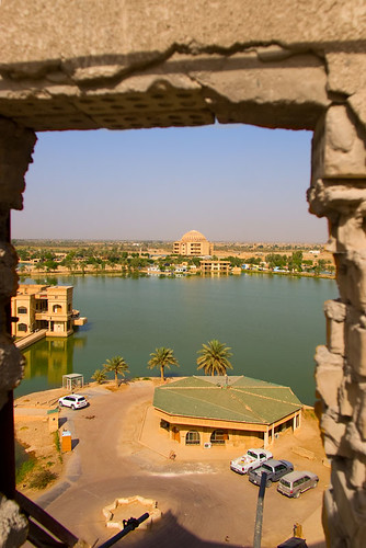 view of Baghdad skyline
