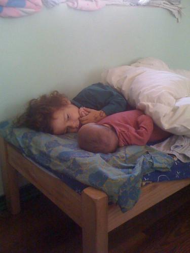 kids bed construction cabin camilo lilith cabaña puntadeldiablo