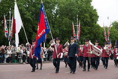 ISB120 2011 020 (Howard.) Tags: london musicians march flag band flags instruments bearers marchers 2011 staffband isb120