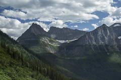 Glacier Park, MT  41 (Largeguy1) Tags: blue sky mountains clouds canon landscape mt mark iii 5d approved glacierpark