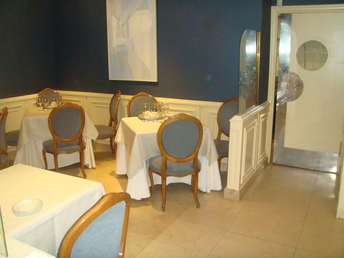 Salón separado del salón principal