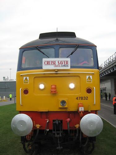 Train Chartering - DRS Class 47 locomotive Cruise Saver Travel Express
