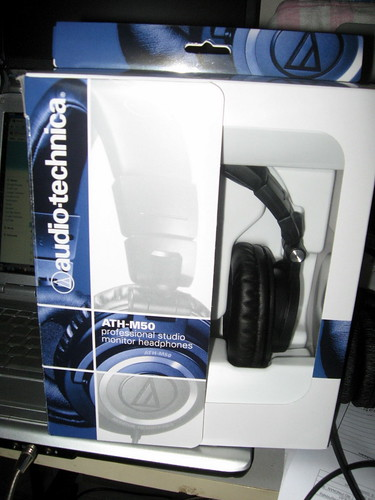 Audio Technica ATH-M50 box