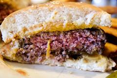 medium rare innards (roboppy) Tags: burger lowereastside cheeseburger brunch alias innards