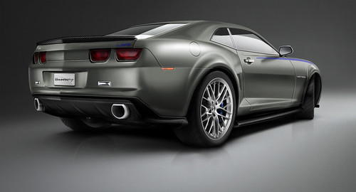 National Speed - 2010 Hennessey Camaro Rear