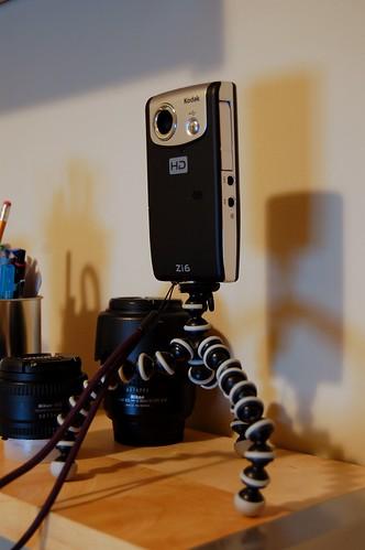 Kodak Zi6 on GorrilaPod