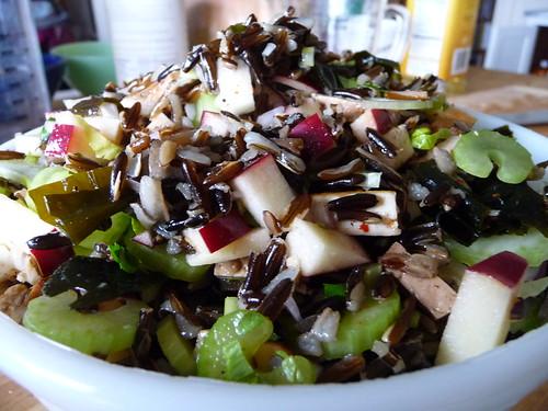 wild rice seaweed salad iii