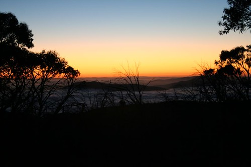 """Sunrise at Ginini, January • <a style=""""font-size:0.8em;"""" href=""""http://www.flickr.com/photos/10945956@N02/3209758637/"""" target=""""_blank"""">View on Flickr</a>"""