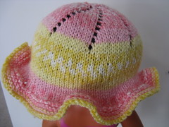 Baby neighbor girl hat