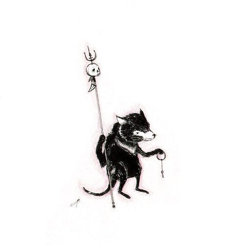 tasmanian devil - key holder