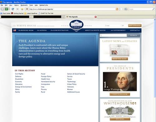 Obama_WH_Agenda