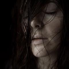 (Meredith_Farmer) Tags: portrait selfportrait me square naturallight squared lightroom sigma30mmf14 365days justimagine hairinmyface nikond40 meredithfarmer periphobia