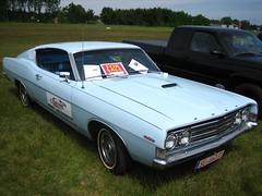 Ford Torino GT 1969 -1- (Zappadong) Tags: ford 1969 car torino gt fastback oldtimertreffenlneburg