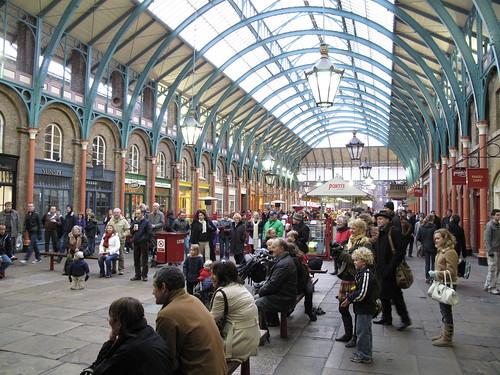 Market arcades in Covent Garden