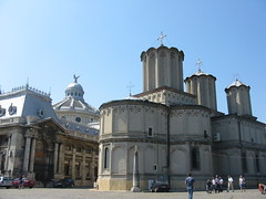Eerste orthodoxe kathedraal die we zagen