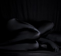 Low Key Black Six (AnonymousArt) Tags: selfportrait black art me lines fetish self dark artistic body shapes surreal tights suit human fabric material form tight exploration lowkey nylon spandex lycra skintight enclosed encasement formfitting zentai secondskin anonymousart
