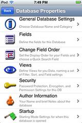HanDBase - Edit Database