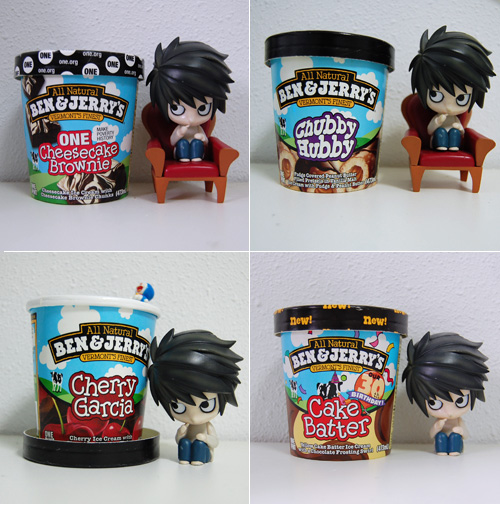 L and Ben & Jerry's